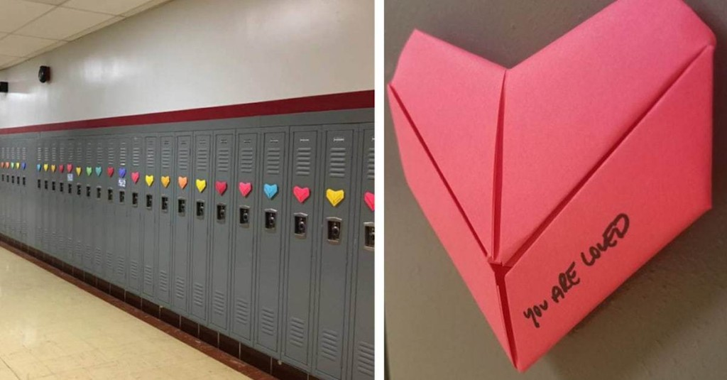 Anonymous Student Surprises Entire High School with Over 1,500 Handmade Valentines