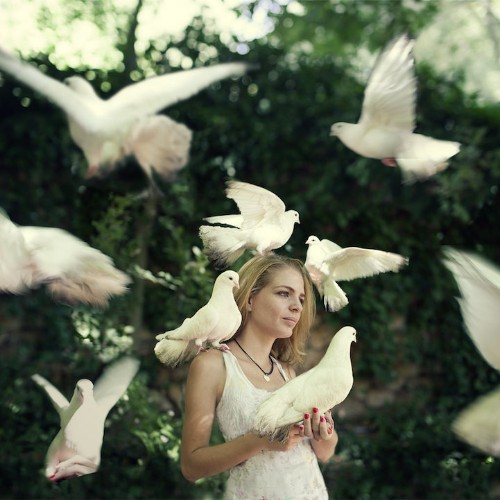 Poetic Photos of Women Surrounded by the Beauty of Nature