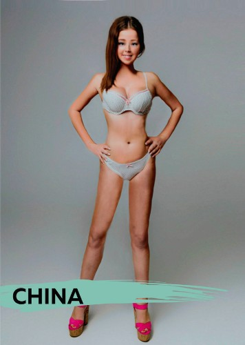 Designers from 18 Different Countries Photoshop One Woman's Body to Meet Their Nation's Ideals