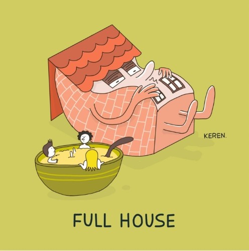 "Clever Illustrations Playfully Reveal the ""True"" Meanings of Idioms"