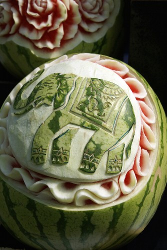 21 Watermelon Sculptures That Are Too Skillfully Crafted to Eat