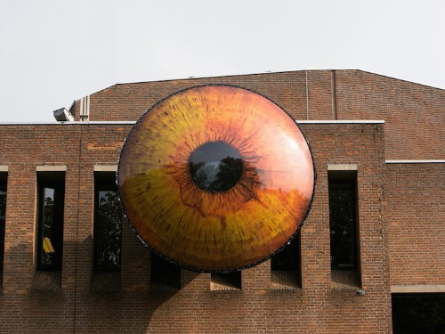 Go Inside These Giant Eyes for a Fascinating Perspective of the Surrounding City