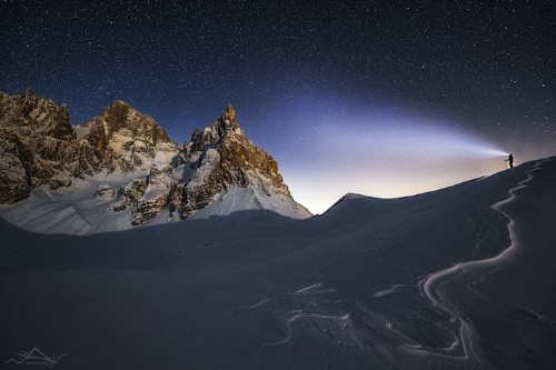 Photographer Takes Incredible Self Portraits Posed in Vast Landscapes