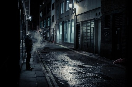 Interview: Photographer Captures Voyeuristic View of People on London Streets After Midnight