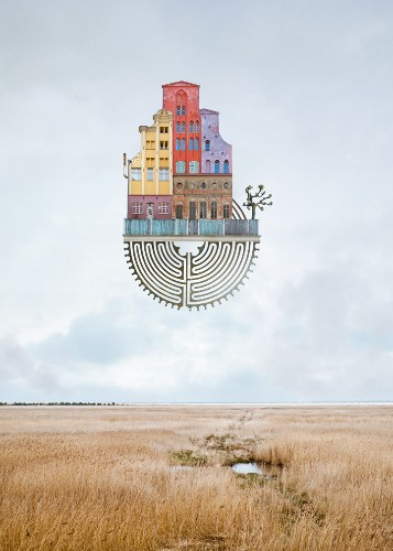 Surreal Architectural Collages Convincingly Create Fantastical Dream Homes