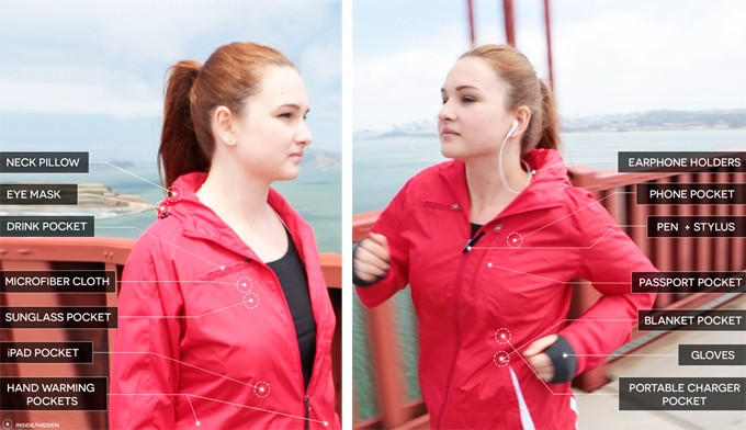 Revolutionary Jacket Packs 15 Features Every Traveler Wants into One Stylish Garment