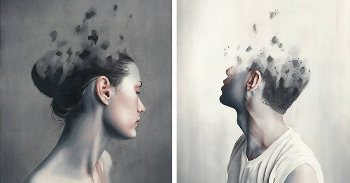 Delicate Watercolor Paintings of People Capture Fragile Human Emotions