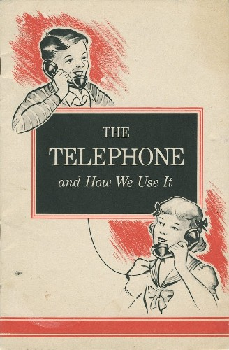 Vintage Booklet Teaches People How to Use a Telephone