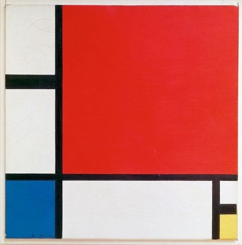 How Mondrian Won the Art World with Just Three Colors