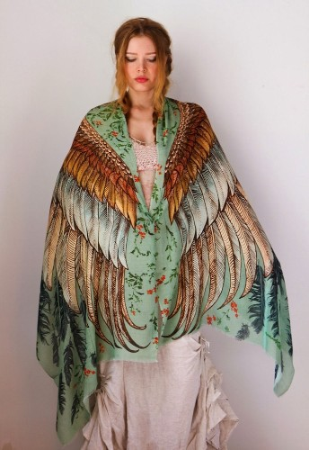 Beautiful Scarves Give You Wings Like a Bird