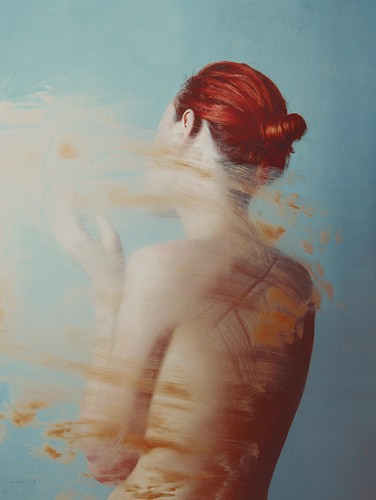 Flóra Borsi's Elegant Self-Portraits Subtly Blend Photography and Painting