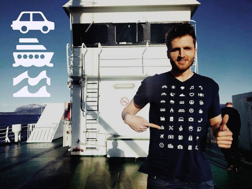 Ingenious Shirt Uses Recognizable Icons to Help Break Language Barriers When Traveling