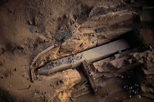 Unfinished Obelisk in Aswan is More Than 3,500 Years Old