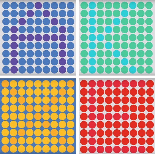 Challenging Color Test Hides Letters in Plain Sight