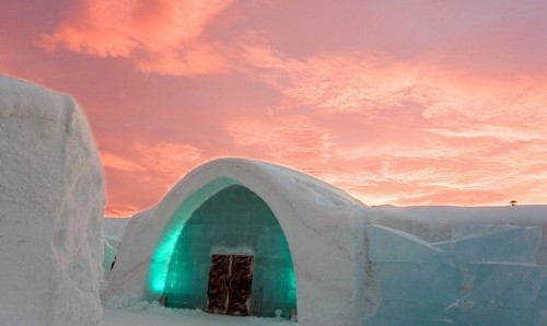 Sweden's Iconic Ice Hotel Found a Sustainable Way to Remain Open Year-Round