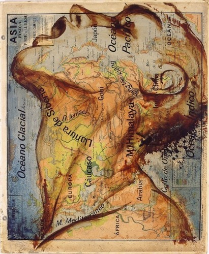 Incredible Paintings on Maps Unify Countries