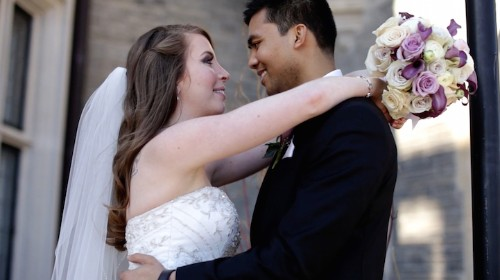 Loving Couple Gets Married Just Months before the Groom Passes Away from Cancer