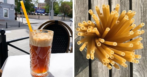 Eco-Friendly Bars in Italy Are Using Pasta Straws to Help Reduce Plastic Waste