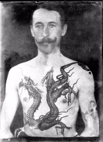 Amazing Photos Reveal the Work of Britain's First Tattoo Artist in Victorian Times