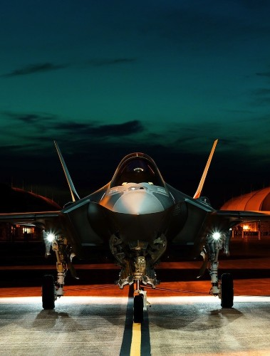 Gorgeous Images of a $200 Million Fighter Jet