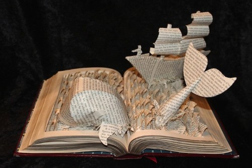 Artist Transforms Books into Exciting Sculptural Stories