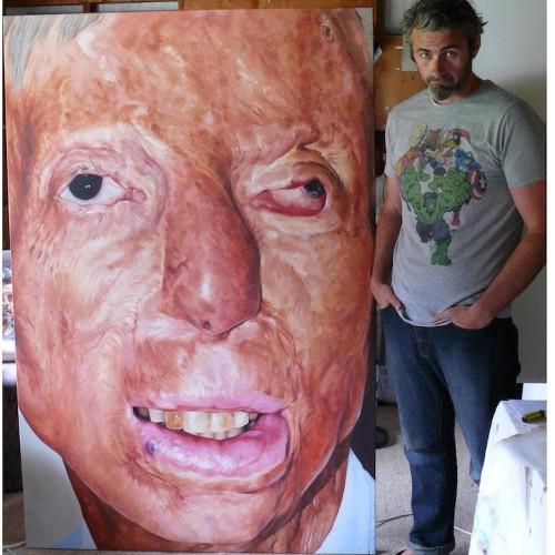 """Interview: Artist Paints Survivors Because """"Everyone Deserves a Portrait"""""""