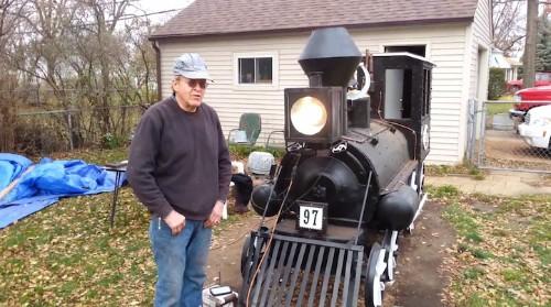 Custom-Built BBQ Smoker Looks and Sounds like a Real Train