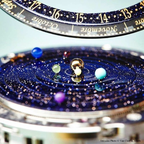 Six Planets Orbit the Sun Inside This Planetarium Watch