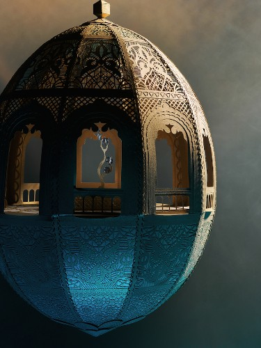 Beautifully Crafted Paper City Highlights Intricate Patterns in Moroccan Culture