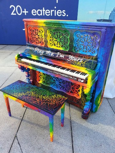Artists Beautify Outdoor Pianos Around the World to Bring Music to the Streets
