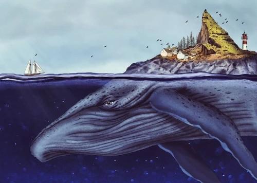 "Illustrator Captures ""Magical Realism"" in Imaginative Storybook Illustrations"