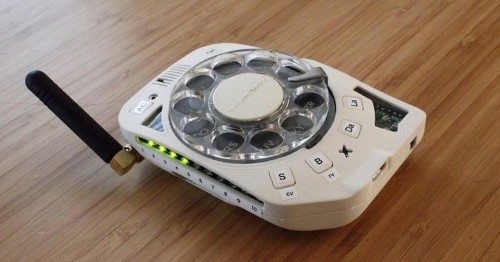 Space Engineer Designs a Rotary Cell Phone That Actually Works