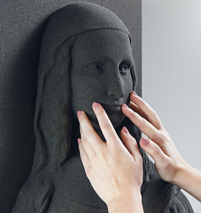 Masterpieces Turned into 3D Printed Sculptures for Blind and Visually Impaired People to Enjoy