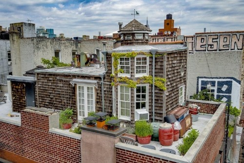 New York City Has an Adorable Rooftop Cottage and It's Finally for Sale
