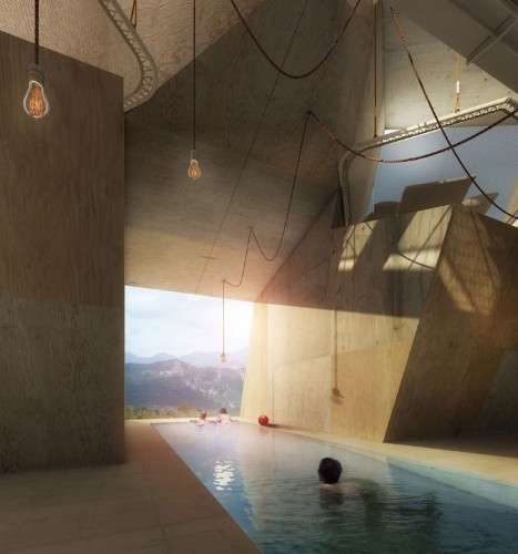 "Spain's ""Exploding"" House Inspired by the Big Bang"