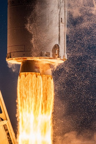 Fiery Photos Capture Every Detail of the Antares Rocket Launch