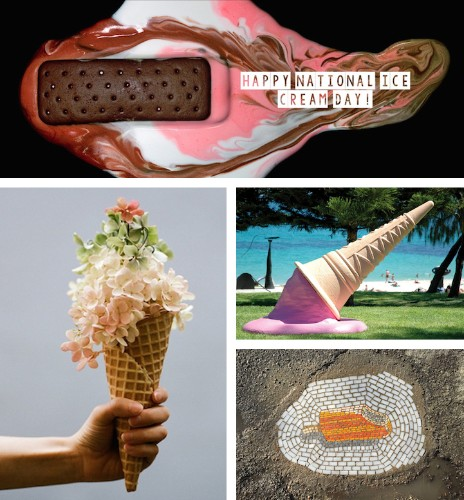17 Fun Works of Art Inspired by Ice Cream