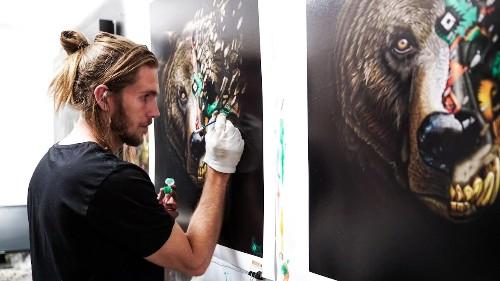 Interview: Street Artist Creates Endangered Animal Paintings to Help Raise Awareness