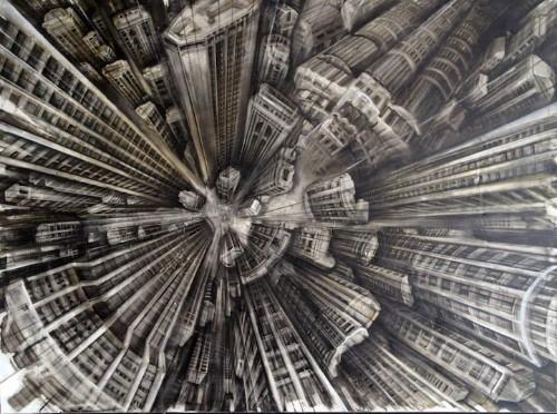 Vertigo Inducing Paintings by Fabio Giampietro