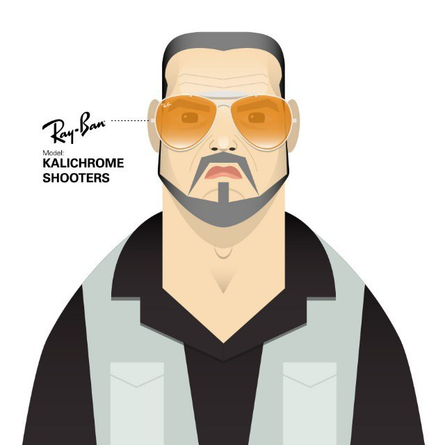 Illustrator Recreates Famous Movie Characters Recognized by Iconic Glasses