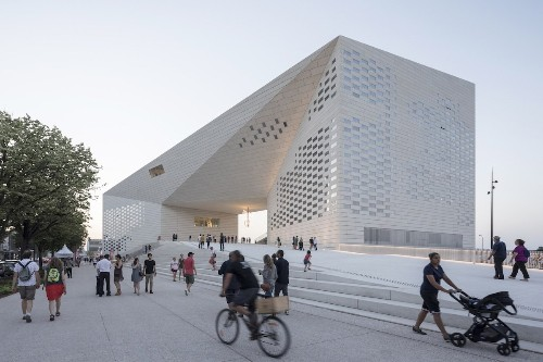 Architects Design a Thrilling Hub of Contemporary Culture in France
