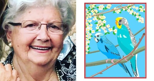 88-Year-Old Woman Creates Colorful Works of Art Using Microsoft Paint