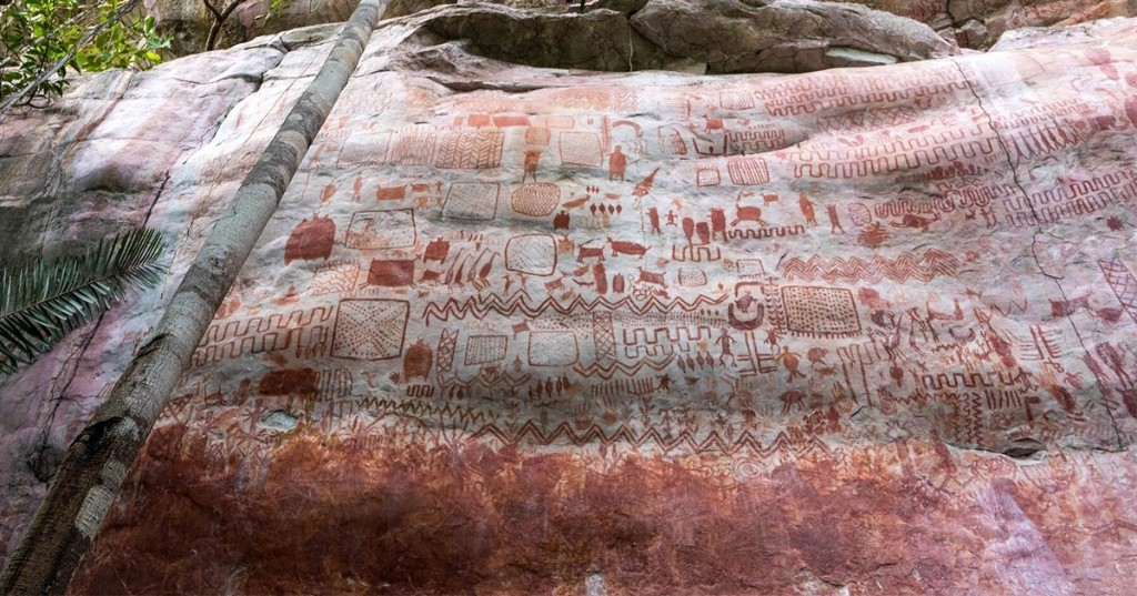 "Researchers Discover Thousands of Ice Age Rock Paintings in the Amazon Now Known as the ""Sistine Chapel of the Ancients"""