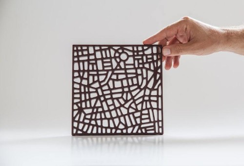 Edible Chocolate City Maps Modeled After Beloved Streets Around the World