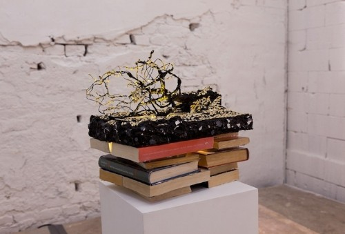 Nature-Infused Book Art and Collages by Johannes Helden
