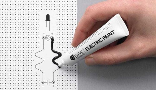 Ingenious 'Electric Paint' Let's You Paint Wires That Can Conduct Electricity