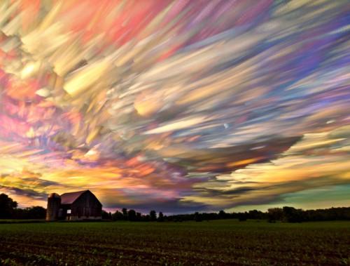 My Modern Shop Spotlight: Gorgeous Smeared Skies by Matt Molloy