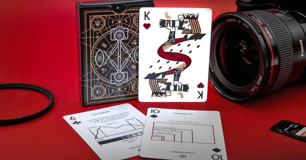 Ingenious 'Photography Deck' Can Be Used as Playing Cards and Pocket-Sized Photo Cheat Sheets