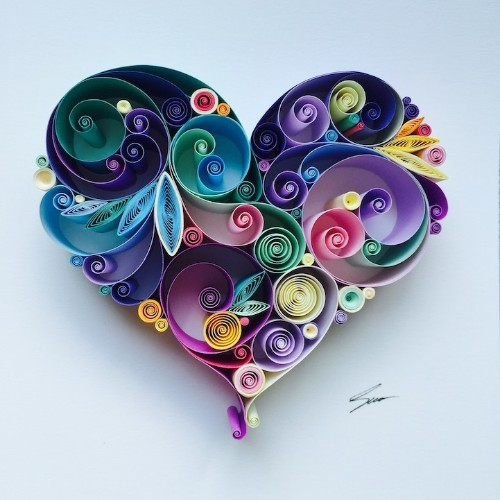 Interview: Artist Quits Day Job to Pursue Passion for Beautifully Quilled Paper Art