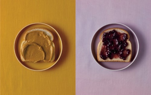 Playful Food Pairings Communicate Well-Known Idioms